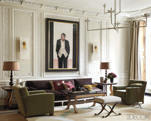 A parisian restoration the simply luxurious life for Decor house furniture