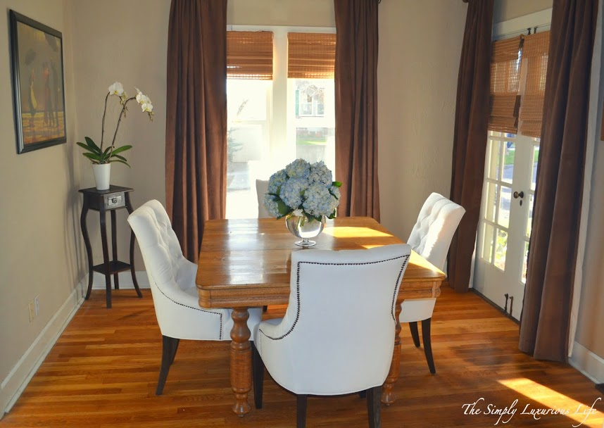 Why Not Create A Dining Room For Conversation The Simply