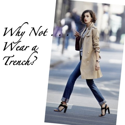 Why Not Wear A Trench Coat The Simply Luxurious Life 174