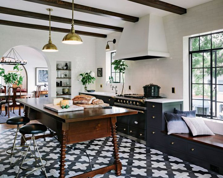 interior designer jessica helgerson of portland oregon turned an industrial space into a spanish kitchen to cook create relax and converse - Interior Designer In Spanish