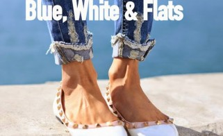 Style Inspiration: Blue, White & Flats