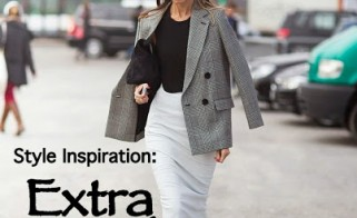 Style Inspiration: Extra Length