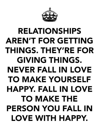 what does it mean being in a relationship