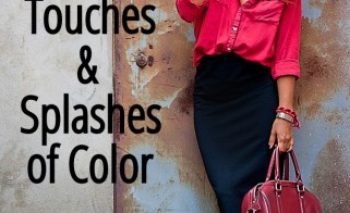 Style Inspiration: Touches & Splashes of Color