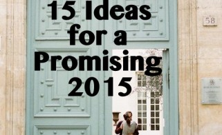 15 Ideas for a Promising 2015