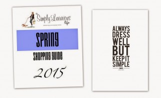 TSLL 2015 Spring Shopping Guide