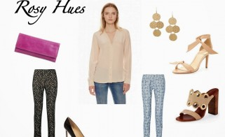 Outfit of the Week: Rosy Hues