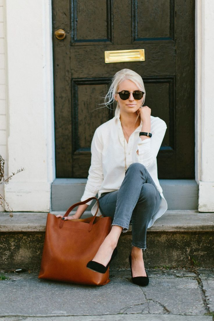 Style inspiration the classic white shirt the simply for Simply luxurious life blog