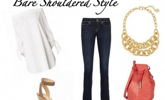 Outfit of the Week: Bare Shouldered Style