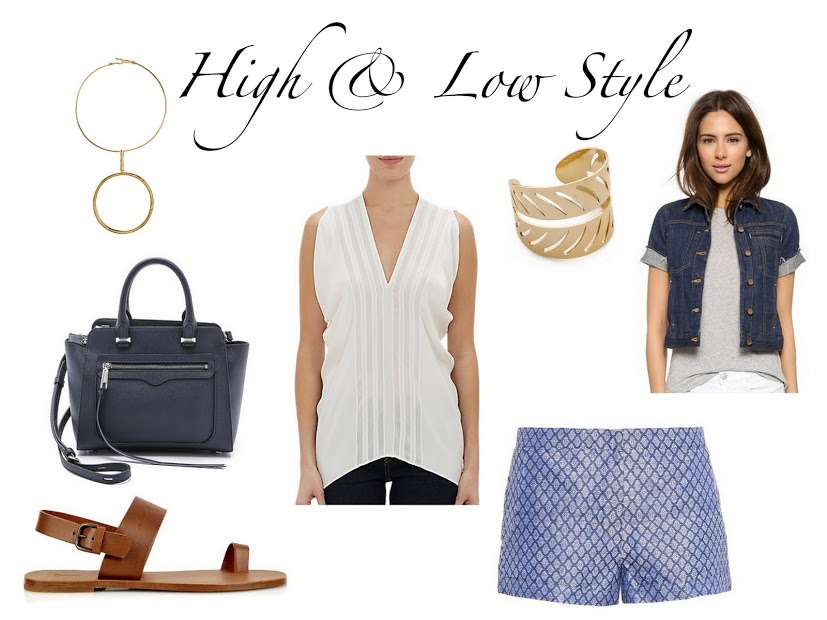 Outfit of the week high low style the simply for Simply luxurious life blog