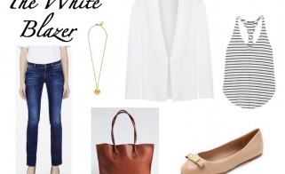 Outfit of the Week: The White Blazer