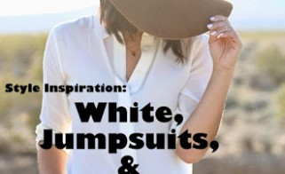 Style Inspiration: White, Jumpsuits & Denim