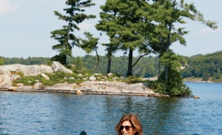Decor Inspiration: Cindy Crawford's Canadian Lake House