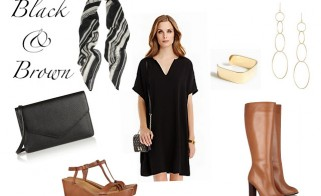Outfit of the Week: Black & Brown