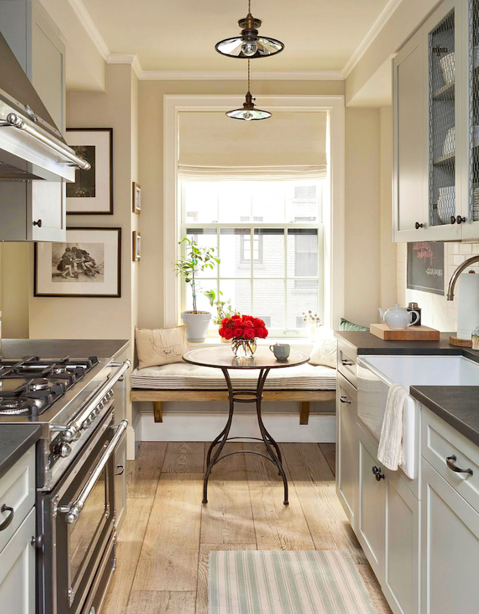 Decor Inspiration: A Cozy Kitchen Nook – The Simply Luxurious Life®