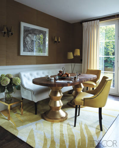 Most Lucrative Dining Room Interior Design Ideas To Beauty: Decor Inspiration: A Notting Hill Grand Sanctuary