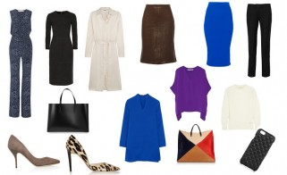 Update the Capsule Wardrobe with Designer Staples
