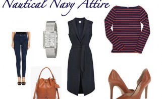 Outfit of the Week: Nautical Navy Attire