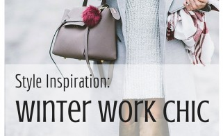 Style Inspiration: Winter Work Chic