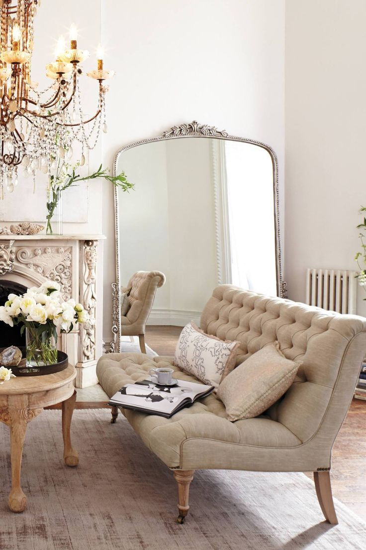 ^ Why Not . . . Style a ozy French Living oom? – he Simply ...
