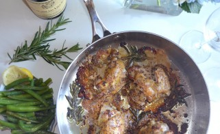A Flavorful Chicken Entrée - Three Mustard Chicken