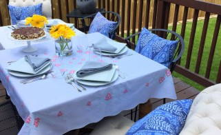 Why Not . . . Have a Dinner Party Al Fresco?