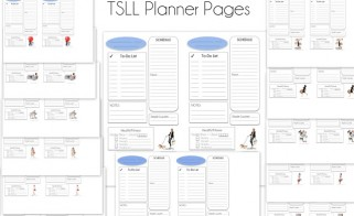 Compact TSLL Planner Pages