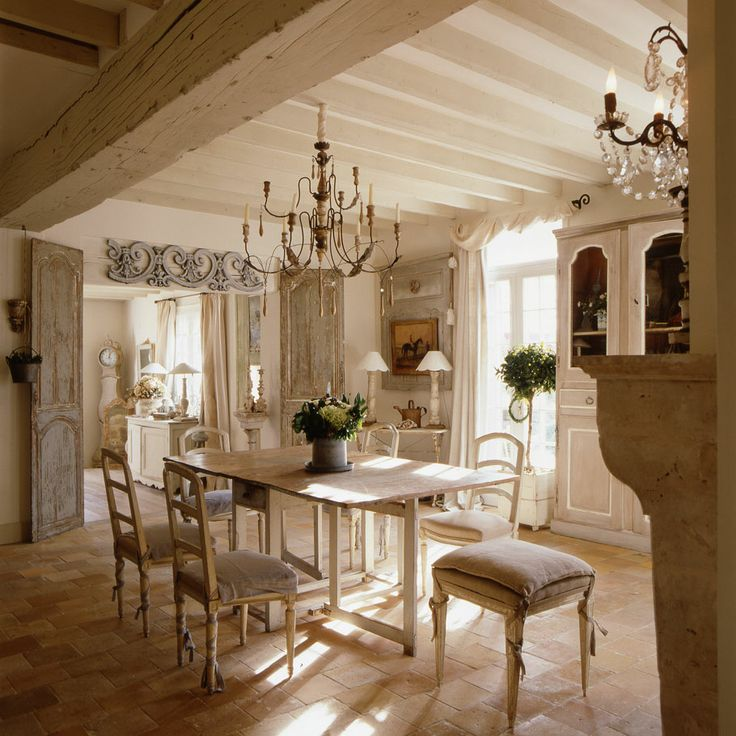 Decor inspiration french cottage charm the simply for Decoration interieur classique