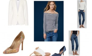 Outfit of the Week: Chic Mariniére Comfort