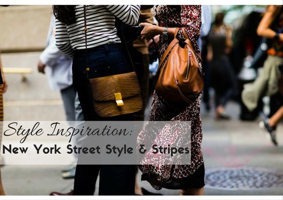New York Street Style Stripes