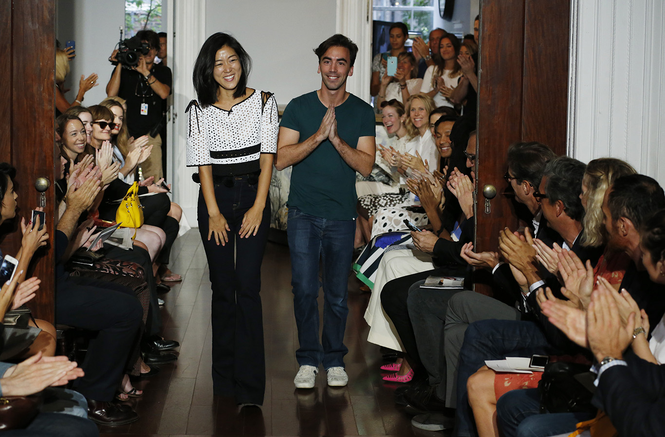 Designers on Catwalk