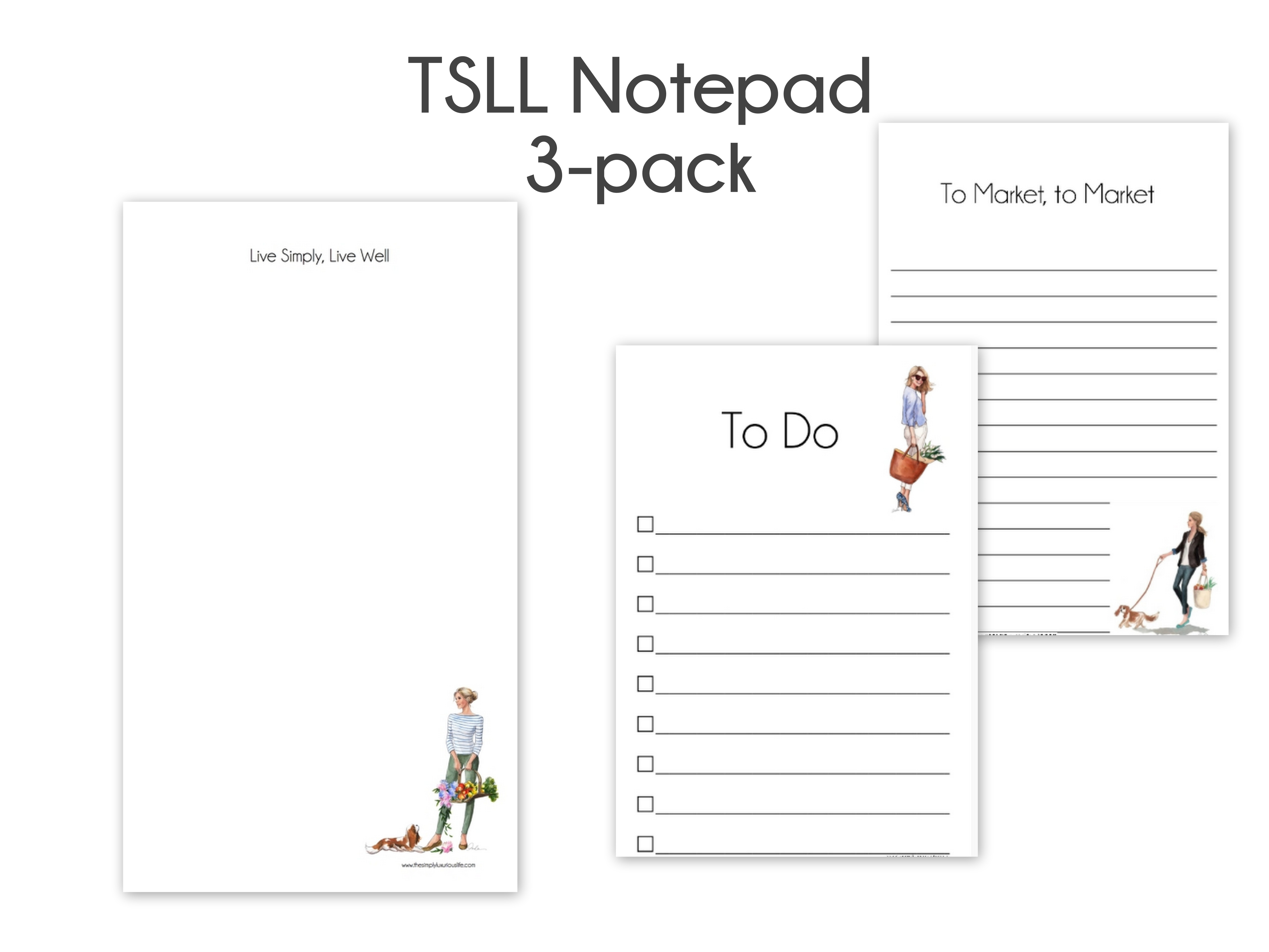 Tsll Notepad Package The Simply Luxurious Life 174