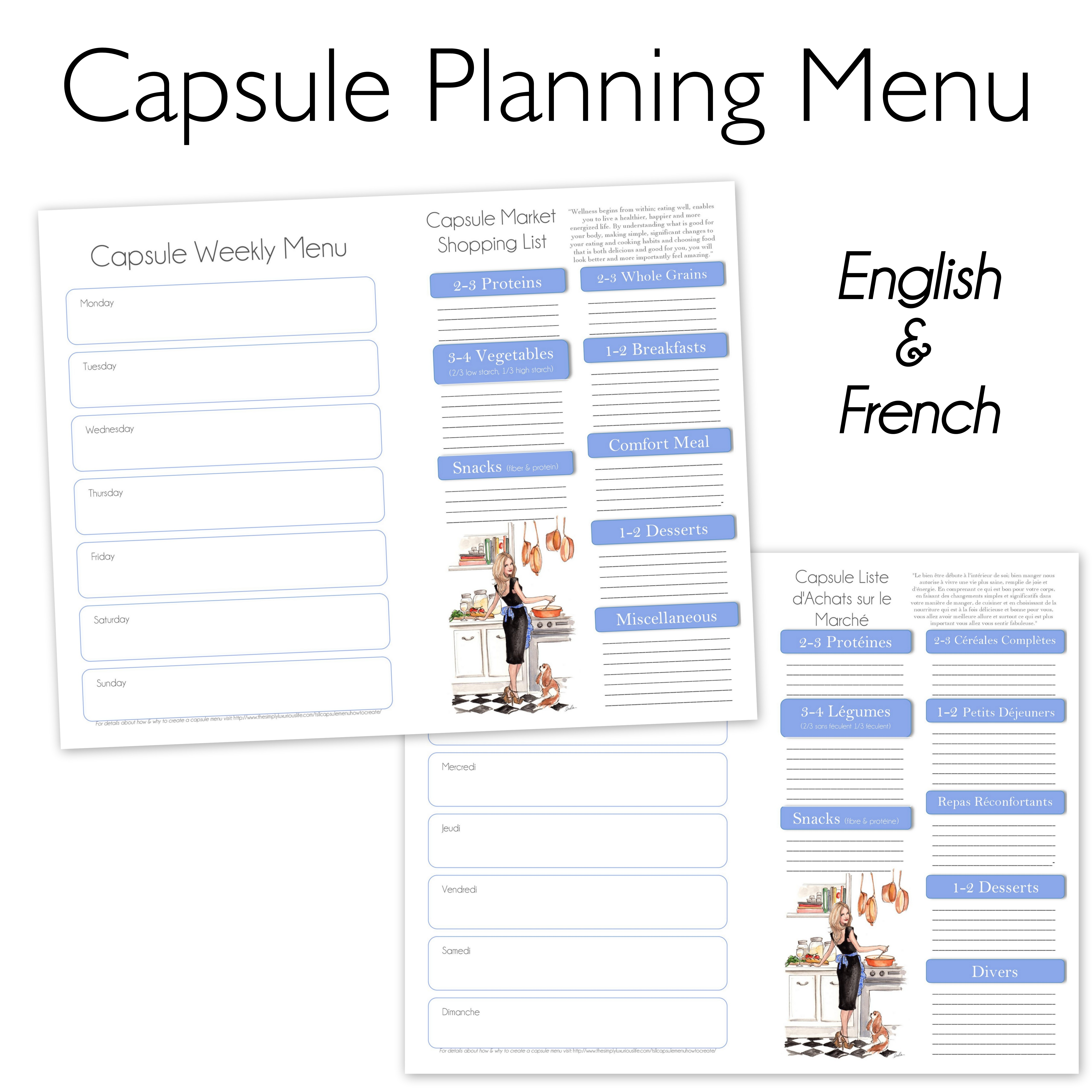 daily routine essay french