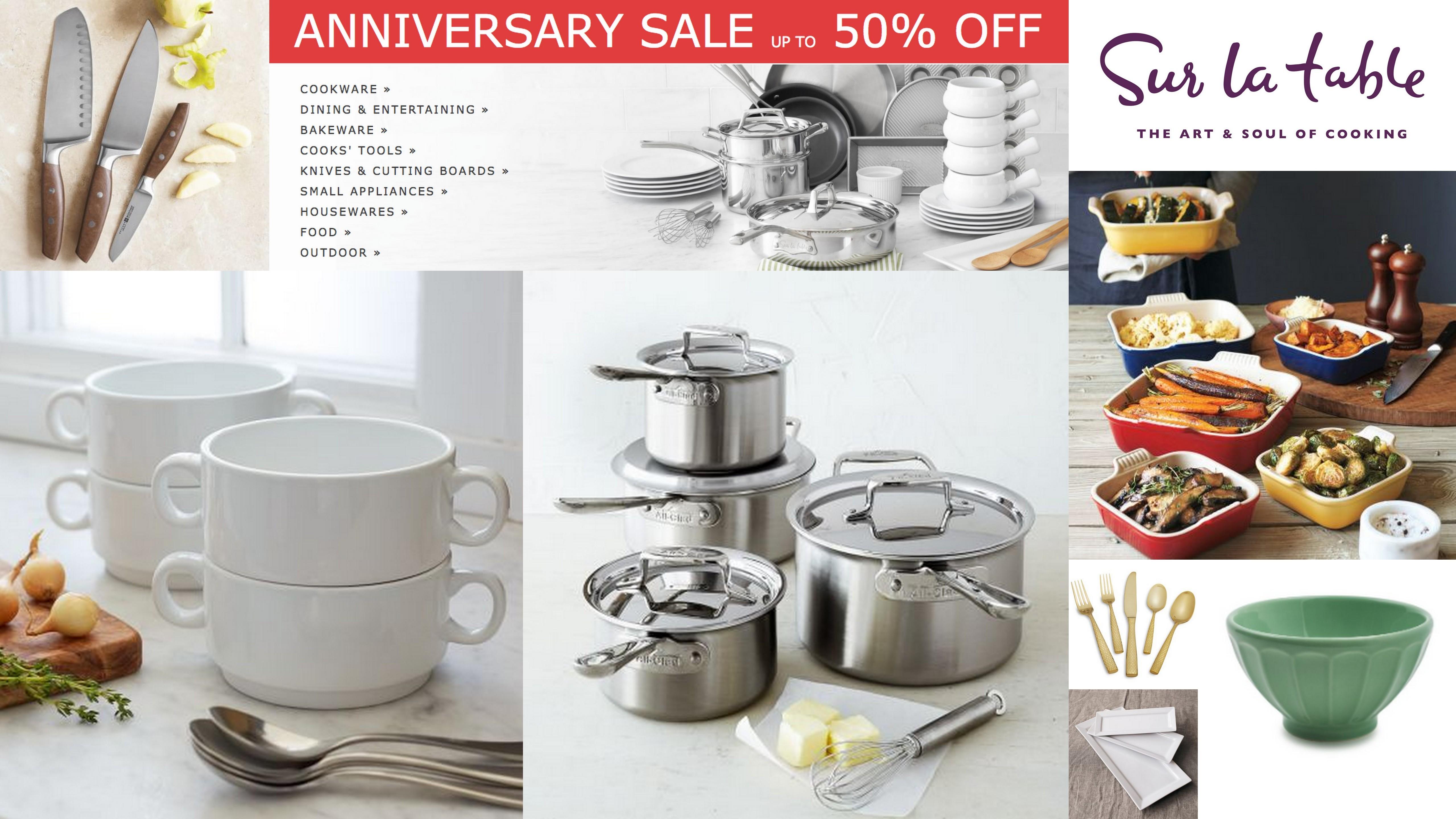 Save on the Kitchen Essentials Sur La Table s Anniversary Sale