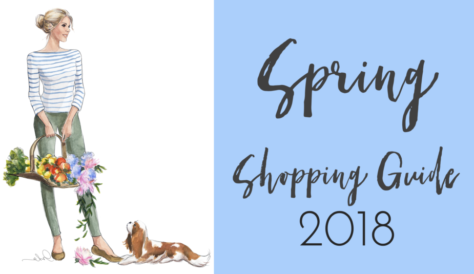 Spring Shopping Guide 2018 | The Simply Luxurious Life
