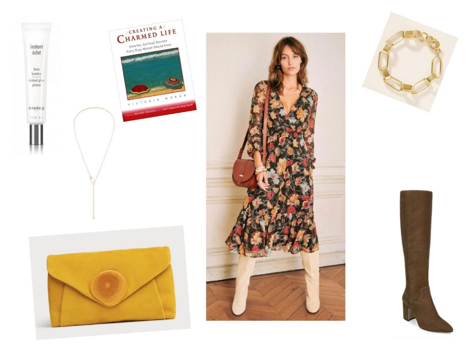 Parisian Glow Skin >> Outfit of the Week: Floral Fall, Parisian Bourgeois – The Simply Luxurious Life®